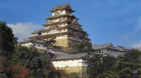 1/500 姬路城 FUJIMI 建18 富士美 組裝模型 FUJIMI,日本建物,日本城堡,姬路城,