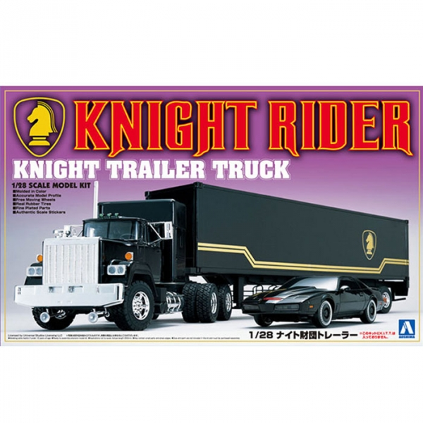 AOSHIMA /1/28 / 霹靂遊俠 / Knight財團 / 卡車 霹靂車 AOSHIMA,1/28,霹靂遊俠,Knight財團,卡車