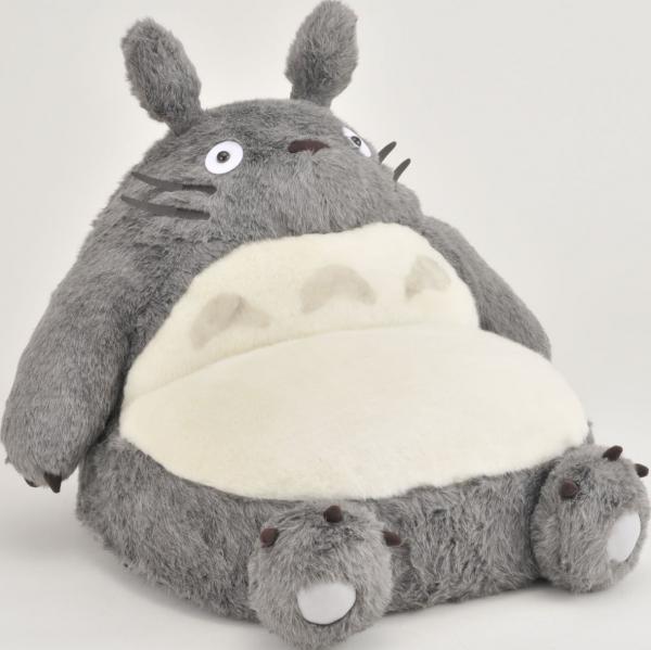 ENSKY / 宮崎駿 / 龍貓 豆豆龍 / 龍貓造型 單人小沙發 ENSKY,龍貓,豆豆龍,沙發,靠枕