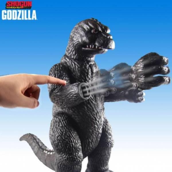 TOYNAMI / 哥吉拉 / 哥吉拉1964年 雙手可發射 19吋超大軟膠 / Shogun Warriors 1964 Godzilla Jumbo TOYNAMI,哥吉拉,哥吉拉1964年,Shogun Warriors 1964 Godzilla Jumbo
