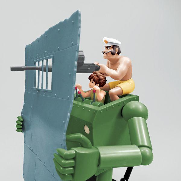 AOSHIMA / 青島 / 1/20 / 未來少年柯南 / 作業機器人 柯南版 組裝模型 AOSHIMA,青島,1/20,未來少年柯南,作業機器人,柯南版
