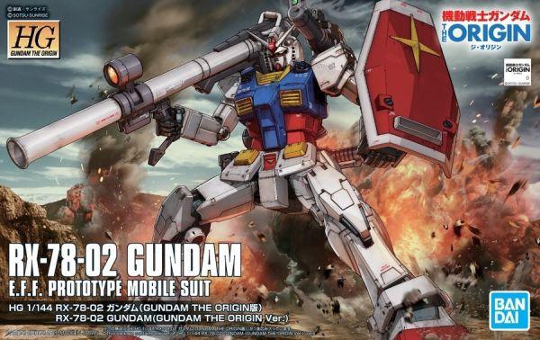 [11月再販] BANDAI HG 1/144 RX-78-02 鋼彈 初鋼 GUNDAM THE ORIGIN Ver. BANDAI,HG,1/144,RX-78-02,鋼彈,GUNDAM THE ORIGIN Ver.