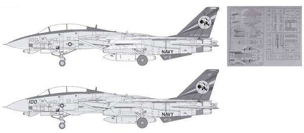 MODEL GSAPHIX 2015 8月號 附1/72 F-14D機體組合配件 日文雜誌 MODEL GSAPHIX, 2015 8月號 附1/72 F-14D機體組合配件, 日文雜誌