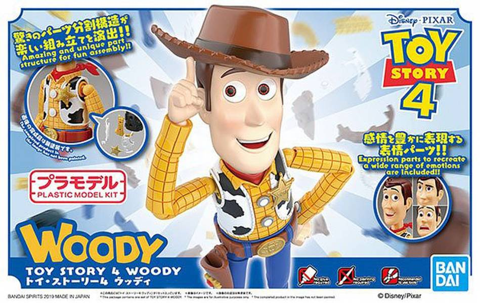 BANDAI / Cinema-rise Standard / 玩具總動員 / 胡迪 / 組裝模型 BANDAI,Cinema-rise Standard,玩具總動員,胡迪,組裝模型