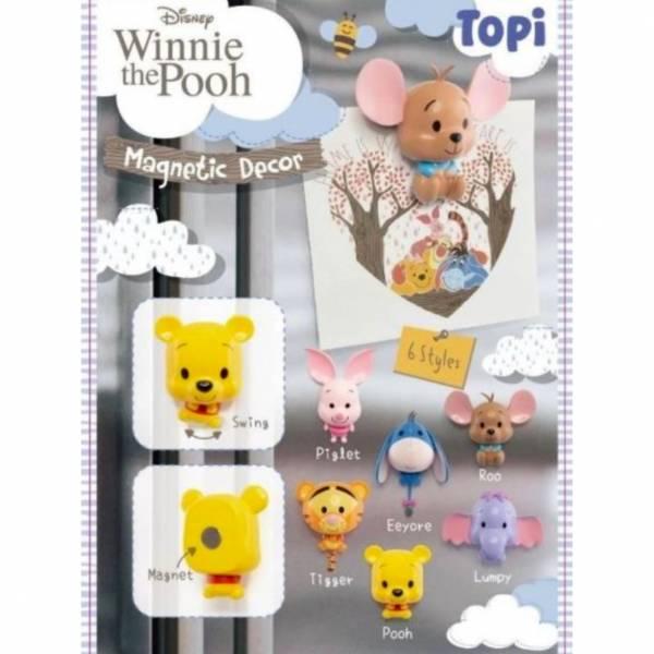 千值練 / 迪士尼 / 小熊維尼 / 維尼家族 磁鐵裝飾 全套6入販售 千值練,迪士尼,小熊維尼,維尼家族,磁鐵