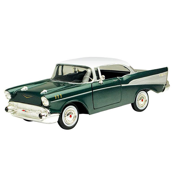 Motormax / 1/24 / 雪佛蘭CHEVY 1957 Bel Air 合金完成品 Motormax,1/24,雪佛蘭,CHEVY 1957 Bel Air
