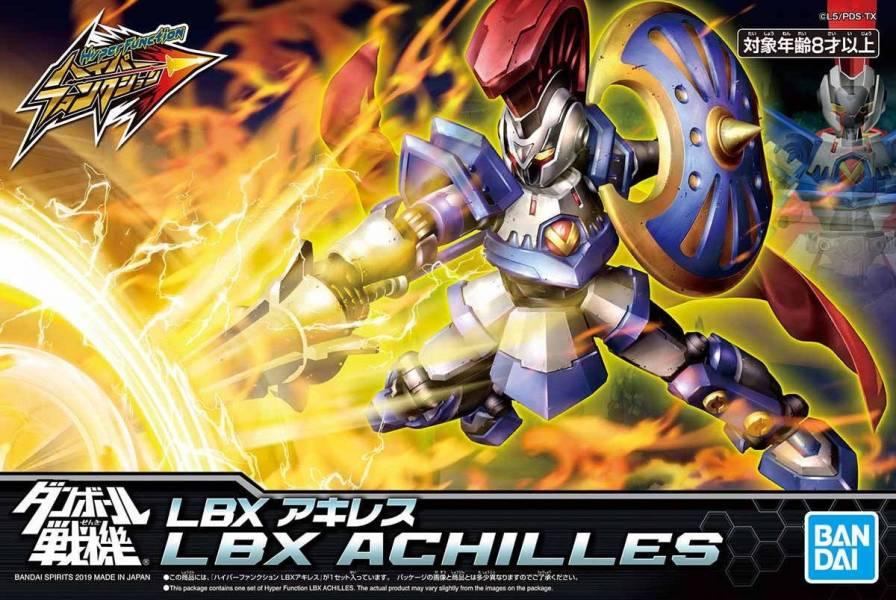 BANDAI LBX 紙箱戰機 阿基里斯 高精密版 BANDAI,LBX,紙箱戰機,阿基里斯,高精密版