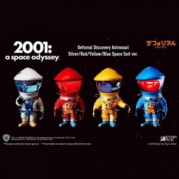 Star Ace / Defo-Real 擬真變形系列 / 太空漫遊 宇航員 Discovery Astronaut / 全4種 獨立販售 Star Ace,Defo-Real,擬真變形系列,太空漫遊 宇航員,Discovery Astronaut