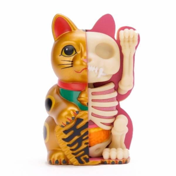 4D Master / FUNNY ANATOMY / 招財貓解剖 金色版 Fortune Cat Anatomy Gold 4D Master,FUNNY ANATOMY, 招財貓解剖,金色,Fortune Cat Anatomy,Gold