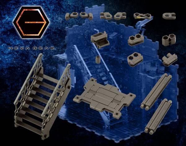 Kotobukiya 壽屋 1/24 Hexa Gear 六角機牙 組合地台03 升降梯配件A 組裝模型 Kotobukiya,壽屋,1/24,Hexa Gear,六角機牙,組合地台03,升降梯配件A