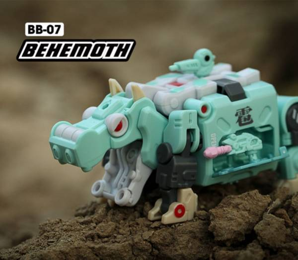 52Toys / 猛獸匣 BEAST BOX / 河馬 叢林版 / BB07 BEHEMOTH 52Toys,猛獸匣,BEAST BOX,河馬,叢林版,BB07,BEHEMOTH