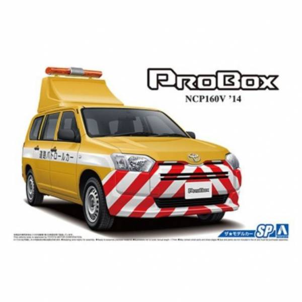 AOSHIMA 1/24 模型車 豐田NCP160V Probox '14 道路巡邏車 組裝模型 AOSHIMA,1/24,模型車,豐田,NCP160V Probox '14,道路巡邏車