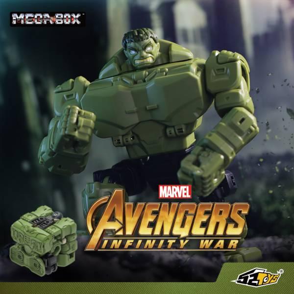 52TOYS 猛獸匣 BB-09 漫威MARVEL 復仇者聯盟 浩克Hulk 52TOYS,猛獸匣,BB-09,漫威,MARVEL,復仇者聯盟,浩克,Hulk