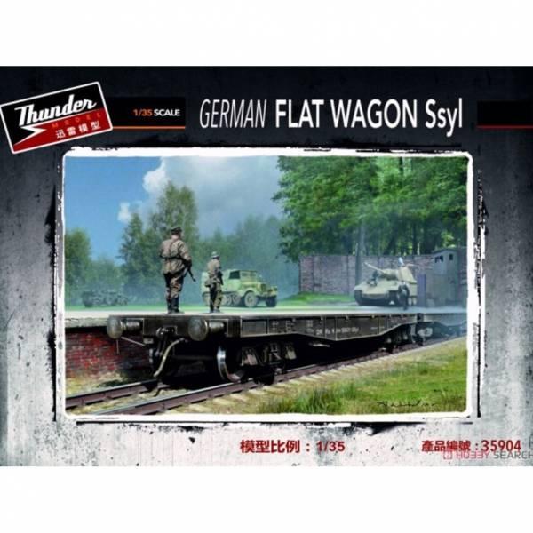 THUNDER MODEL THUNDER MODEL 1/35 德軍 Ssyl 重平貨車 THUNDER MODEL,1/35,德軍,Ssyl,重平貨車
