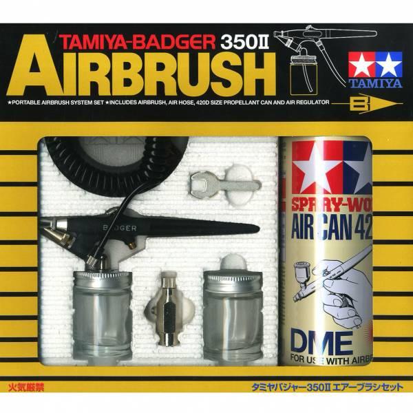 TAMIYA 田宮 #74405 Badger 350 II 噴槍/噴筆組含氣罐 TAMIYA, 田宮, 74405, Badger 350 II, 噴槍,噴筆,氣罐