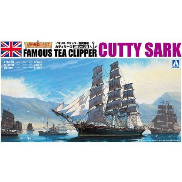 AOSHIMA 青島 1/350 帆船 #02 英國 卡蒂薩克號Cutty Sark 組裝模型 AOSHIMA,青島,1/350,帆船 #02,英國卡蒂薩克號,Cutty Sark