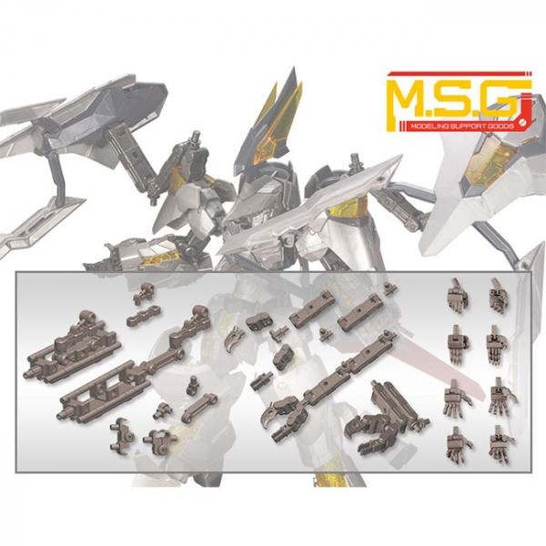 Kotobukiya / 壽屋 / MSG 機甲配件01 機動機構套組 槍鐵色 組裝模型 Kotobukiya,壽屋,MSG,機甲配件01,機動機構套組,槍鐵色