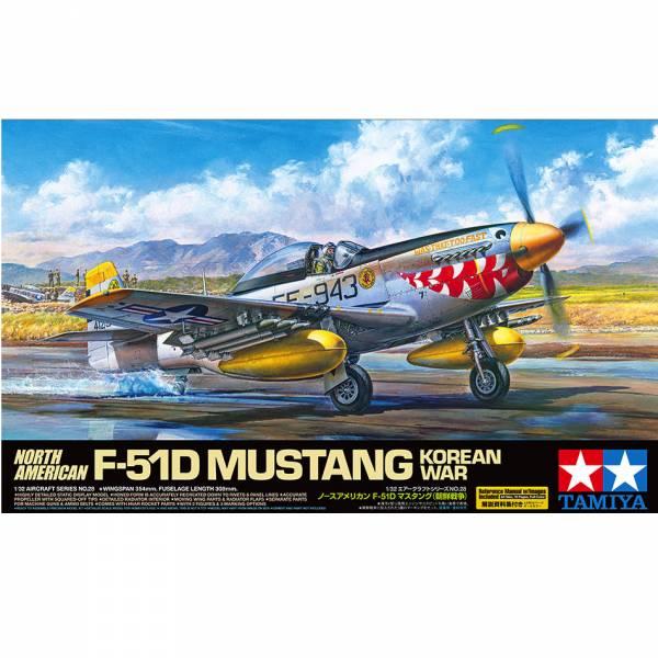 TAMIYA 田宮 1/32 #60328 北美 F-51D 野馬戰鬥機 Mustang Korean War 韓戰 TAMIYA, 田宮, 組裝模型, 1/32,60328, 北美,F-51D,野馬戰鬥機,Mustang, Korean War, 韓戰