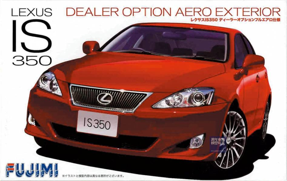 1/24 LEXUS IS350 AERO 空力套件版 FUJIMI ID125 富士美 組裝模型 evo9 FUJIMI,1/24,ID,LEXUS,IS350,AERO,