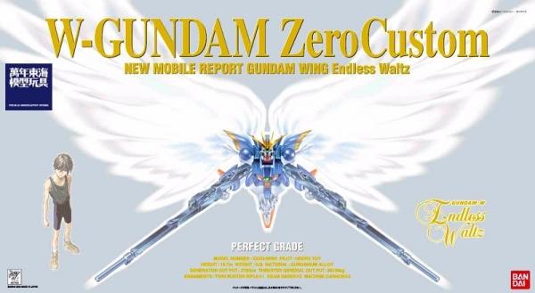 [7月再販] BANDAI PG 1/60 飛翼零式 特裝型 鋼彈W 天使鋼彈 WING GUNDAM ZERO CUSTOM W-02 PG,1/60,WING GUNDAM ZERO CUSTOM,飛翼零式 特裝型,鋼彈W