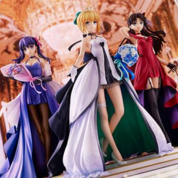 Good Smile Fate/stay night 15週年 Saber 遠坂凜 間桐櫻 15th Celebration Dress Ver. Premium Box GOOD SMILE,Fate/stay night,15週年,Saber,遠坂凜,間桐櫻,15th Celebration Dress Ver,Premium Box