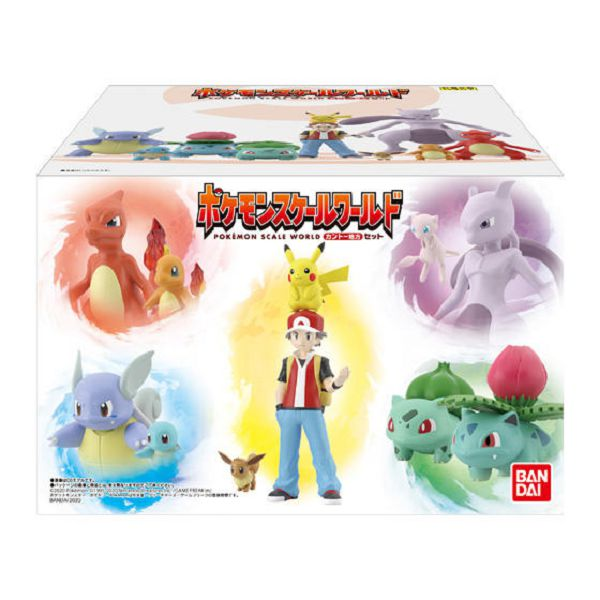 BANDAI 盒玩 SCALE WORLD 神奇寶貝 精靈寶可夢 關都地區 套組 BANDAI,盒玩,SCALE WORLD,神奇寶貝,精靈寶可夢,關都地區,套組