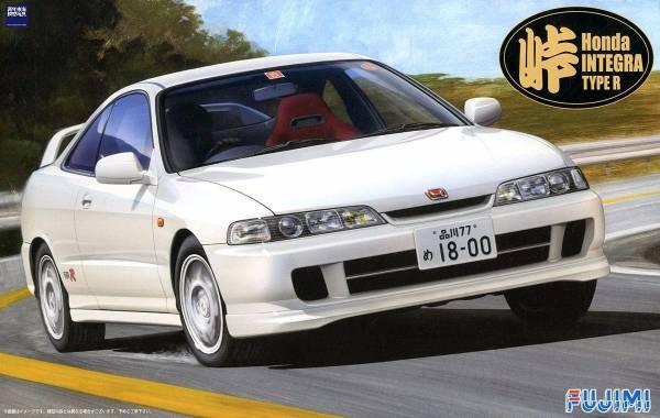 1/24 INTEGRA TypeR 1995 FUJIMI 峠7 富士美 組裝模型 FUJIMI,1/24,峠,INTEGRA,TypeR,1995,