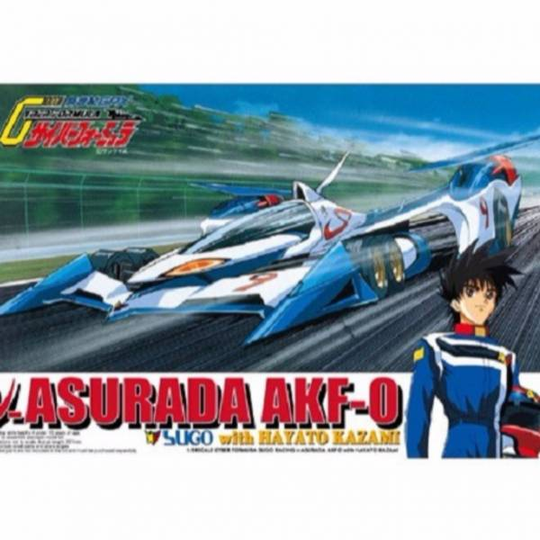 AOSHIMA 1/24 閃電霹靂車 #01 阿斯拉 AKF-0 with風見 AOSHIMA,1/24,閃電霹靂車,#01,ν阿斯拉 AKF-0 with風見