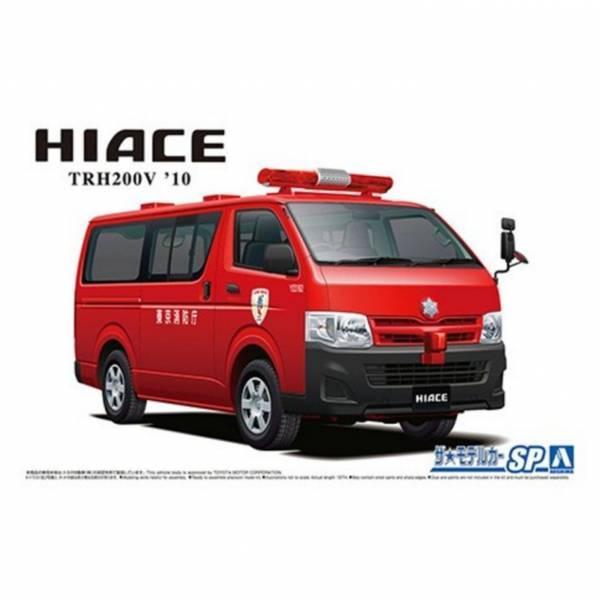 AOSHIMA 青島 1/24  豐田Hiace TRH200V 消防檢查示範車 '10 組裝模型 AOSHIMA,青島,1/24,豐田,Hiace,TRH,200V,消防,檢查,示範車,',10,組裝,模型,