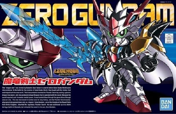 BANDAI / SD / BB戰士/ #378 / 魔龍劍士 / 傑洛鋼彈 / 零式鋼彈 / ZERO Gundam BANDAI,SD,BB戰士,#378,魔龍劍士,傑洛鋼彈,零式鋼彈,ZERO Gundam