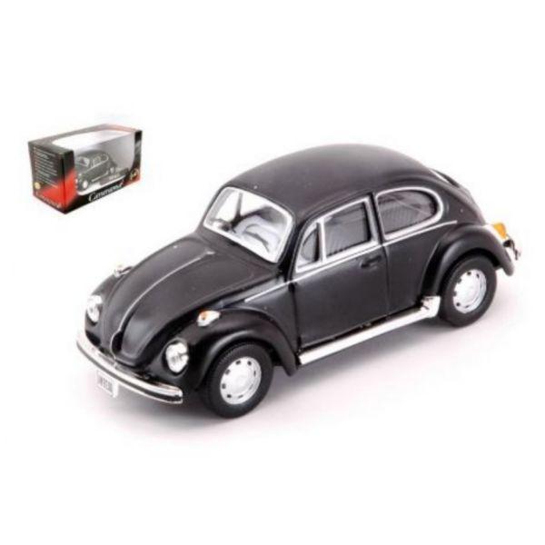 Cararama / 1/43 / 福斯Volkswagen VW / Beetle 黑白 合金完成品 Cararama,1/43,福斯,Volkswagen,VW,Beetle,合金