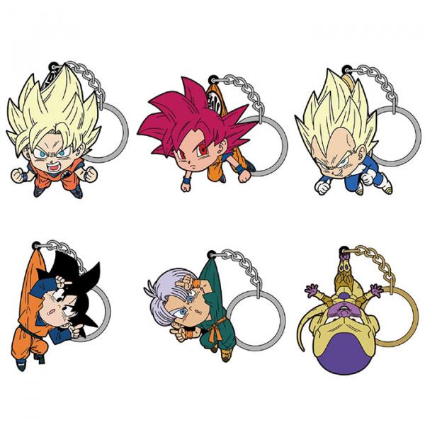 COSPA / 七龍珠超 / 角色鑰匙圈系列 / 全6種 / 個別販售 COSPA,七龍珠超,角色鑰匙圈系列