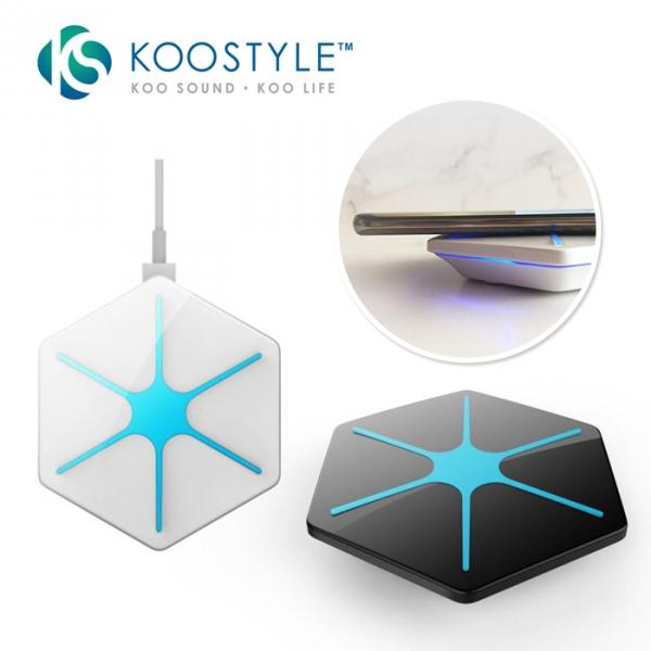 充電器 無線充電器 KooStyle Q1 無線快速充電座-兩色可選 充電器,無線充電器,手機充電器,無線充電器,IPHONE充電器,iphone無線充電器
