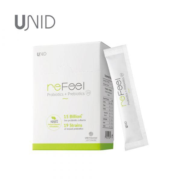 UNID 美國 ReFeel 2.0 複合益生菌 30包/盒