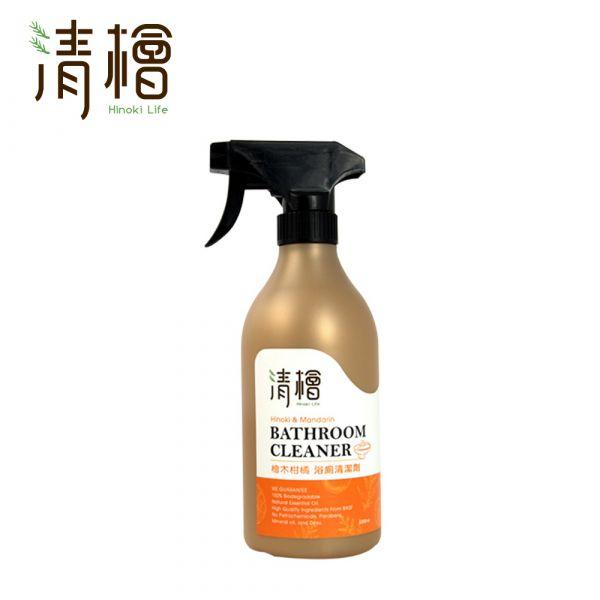 Hinoki Life 清檜 檜木柑橘浴廁清潔劑500ml 檜木柑橘 浴廁清潔劑 去除污垢 中性溫和 溫和去污 柑橘檸檬