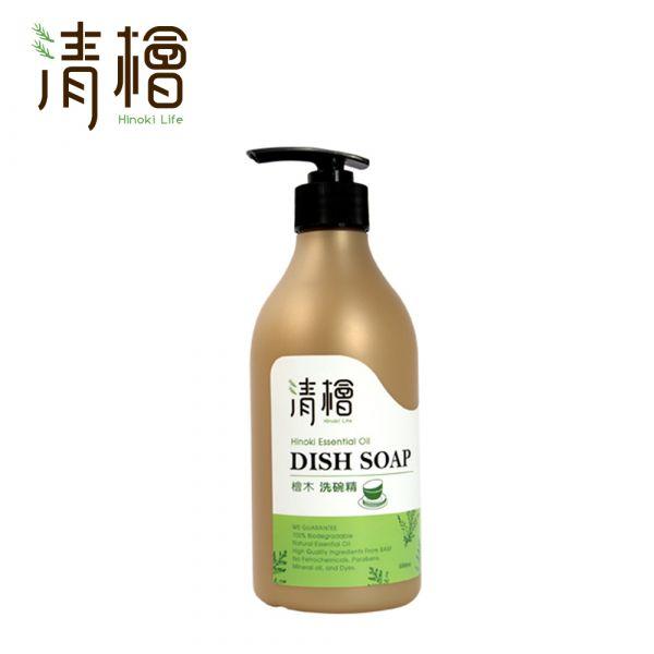Hinoki Life 清檜 檜木洗碗精500ml 清檜 檜木 洗碗精 高洗淨力 成分溫和安全 瓦解油汙 環境友善 富貴手救星