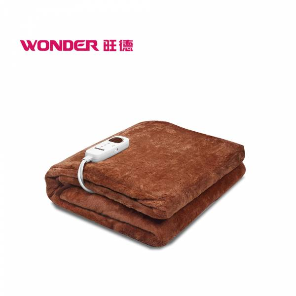 【WONDER旺德】微電腦溫控雙人電熱毯 電熱毯,智慧型恆溫,