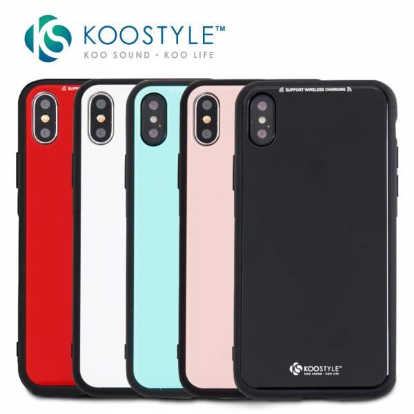 手機殼 iphone x手機殼 KooStyle 玻璃鏡面 手機殼-多款可以選 iphoneX手機殼,手機殼,防撞手機殼,iphone