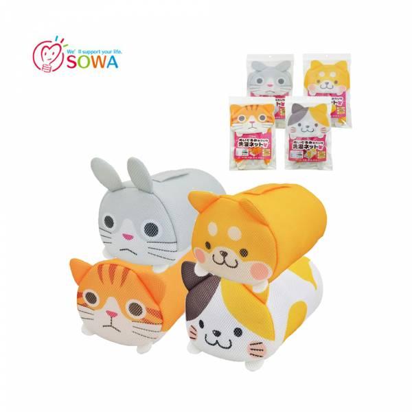 【SOWA創和】可愛動物洗衣袋 (柴犬/花貓/虎貓/兔子)  洗衣袋,洗衣籃,卡通洗衣袋,動物洗衣袋