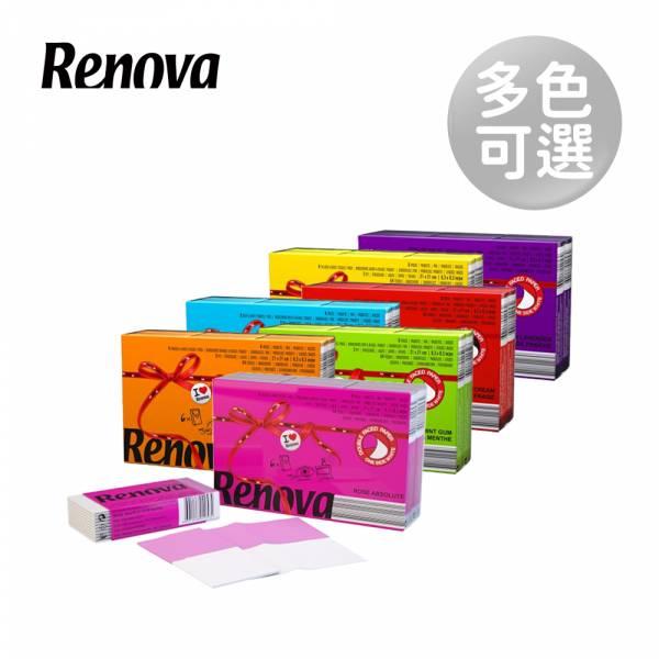 Renova葡萄牙天然彩色香氛紙手帕 Renova、葡萄牙天然彩色香氛紙手帕、衛生紙、時尚衛生紙、抽取式衛生紙、衛生紙隨身包、無毒衛生紙、環保衛生紙