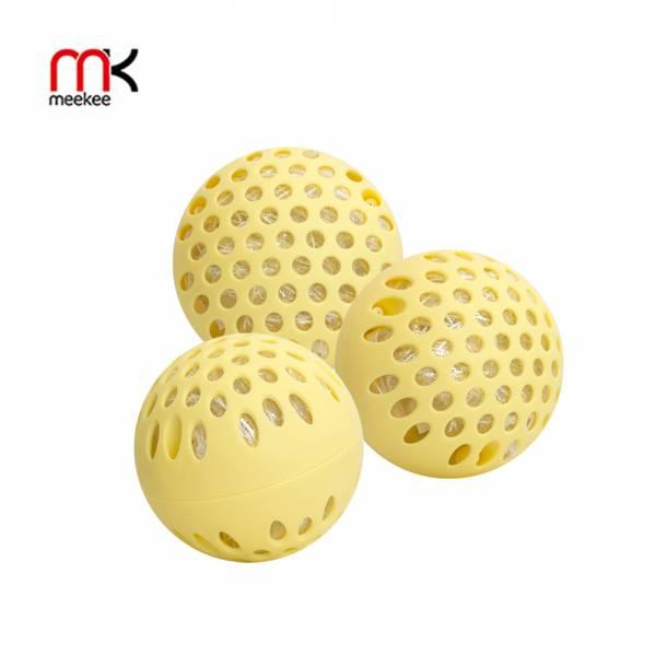 【meekee】銀立潔 Ag+活性抑菌除臭洗衣球(3入組) 洗衣球,奈米銀,洗衣機保養