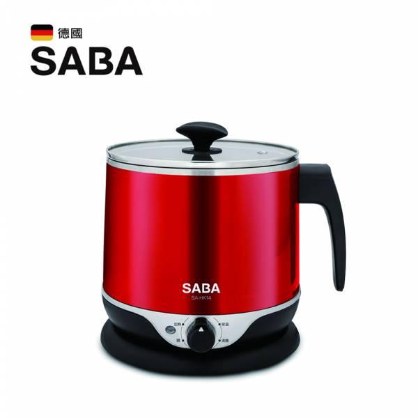 【SABA】2.2公升雙層防燙不鏽鋼美食鍋 美食鍋,多功能烹煮,
