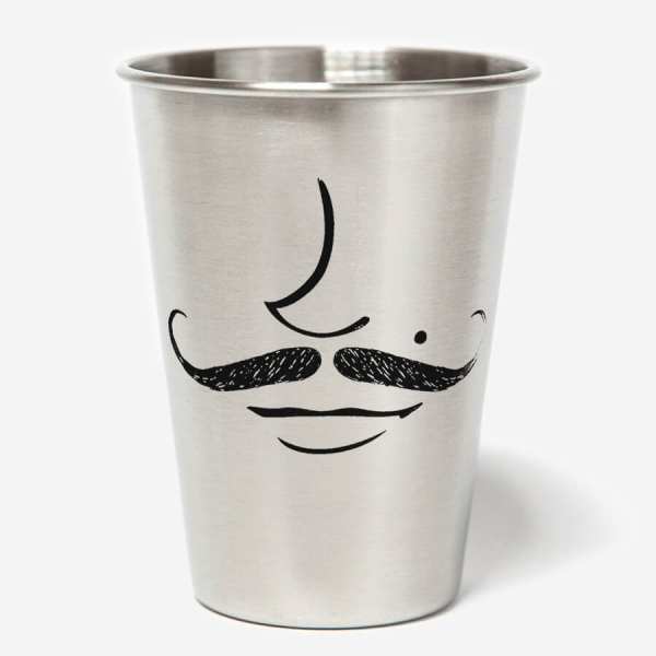 CUPS CO. - MUSTACHE CUPS
