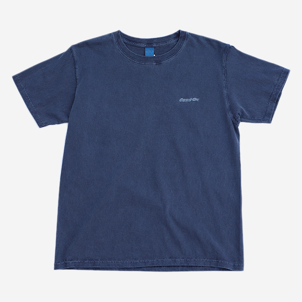 GOOD ON - COLOR DYE WAPPEN SS TEE-NAVY