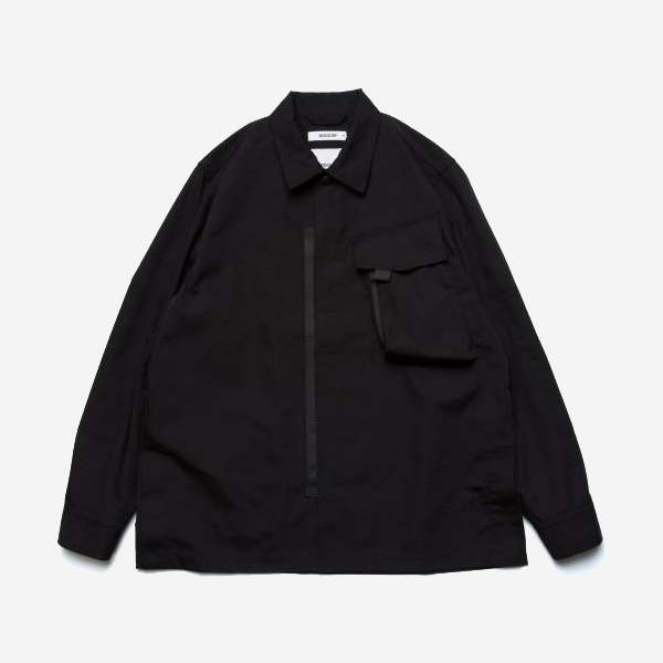 WISDOM - TACTICAL L/S SHIRT - BLACK
