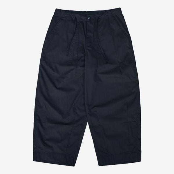 寬版彈性抽繩軍褲( 2 COLORS)