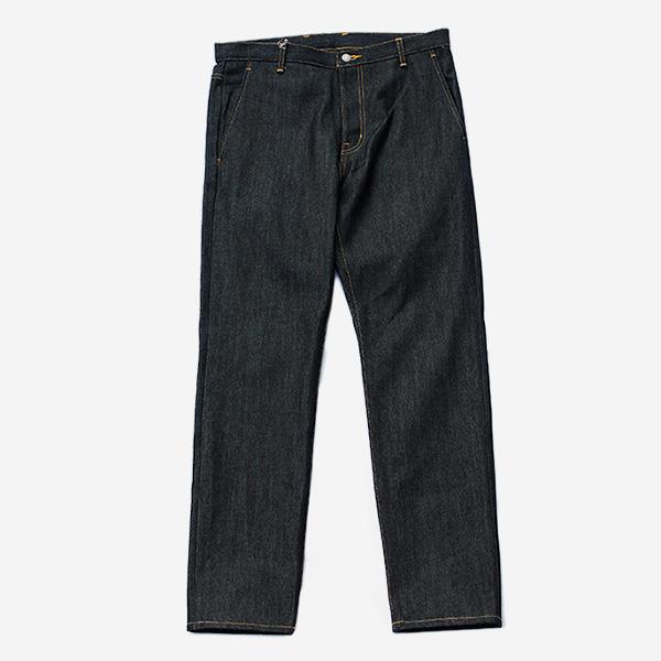 KUON - DENIM SLIM PANTS-NO WASH