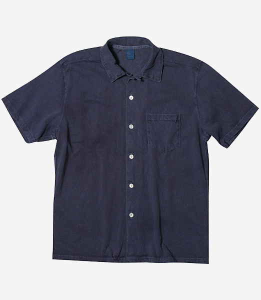 GOOD ON - S/S OPEN TEE SHIRTS-NAVY