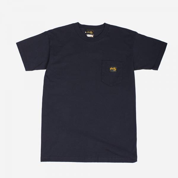 STAN RAY - STAN POCKET TEE NAVY