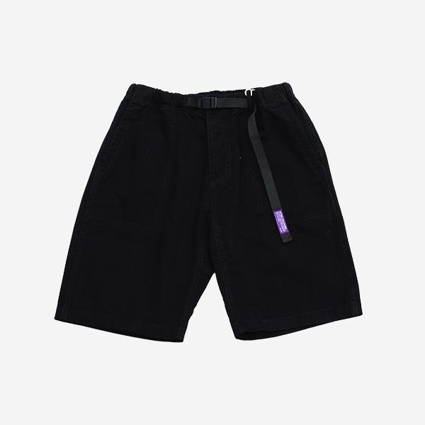工裝織帶斜紋短褲